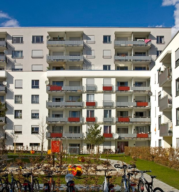 Munich Is Building Affordable Housing Atop Parking Lots