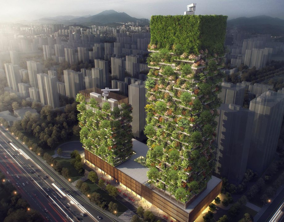 http://inhabitat.com/chinas-first-vertical-forest-is-rising-in-nanjing/